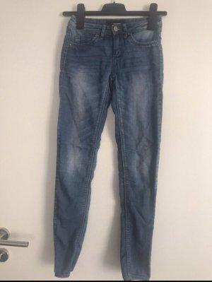 Jeans Jeggings Skinny blau Tally Weijl Gr. 32
