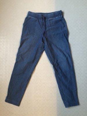Uniqlo Pantalon de jogging bleu