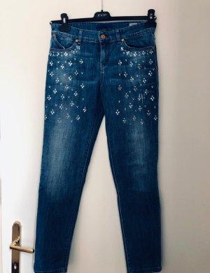 Jeans Joop! mit Swarovski Kristallen