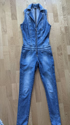 Guess Langer Jumpsuit chabrowy