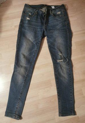 JustFab Tube Jeans blue