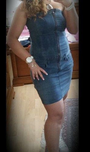Gstar Jeansjurk blauw