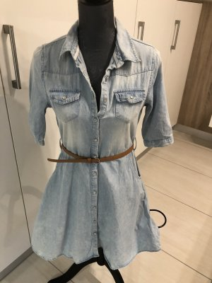 Denim Dress cornflower blue