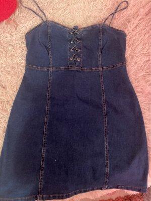 Primark Jeansowa sukienka Wielokolorowy