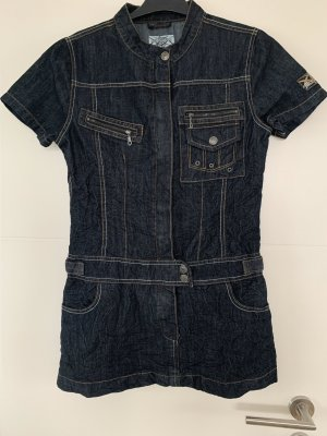 Denim Dress dark blue-blue