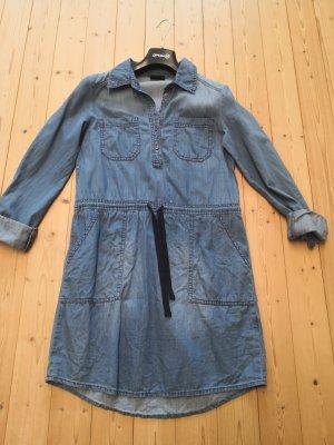 Jean Pascale Jeansjurk korenblauw