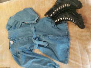 ASOS DESIGN Jeansjurk blauw
