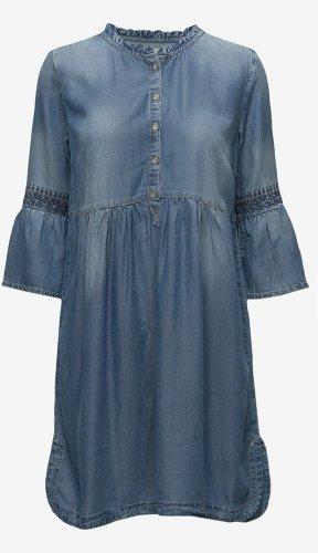 Jeans Kleid Cream