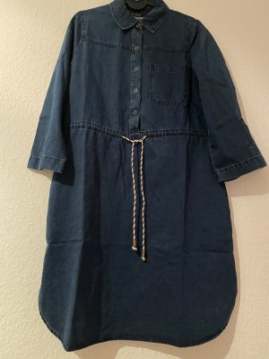edc Denim Dress dark blue-blue