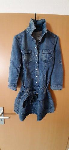 edc Robe en jean multicolore