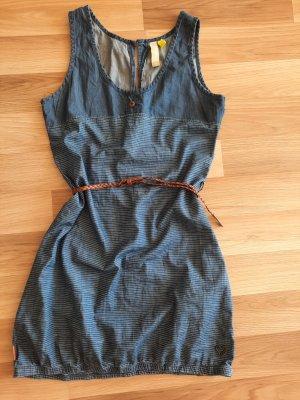 Alife & Kickin Denim Dress blue