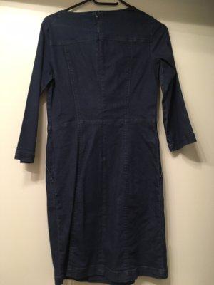 Jeans Kleid mit 3/4 Ärmel