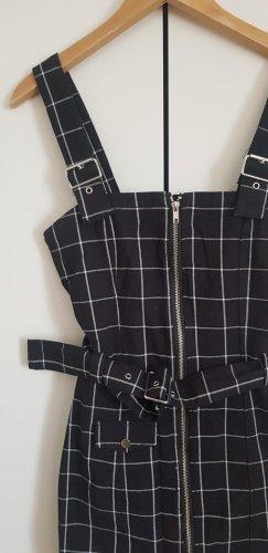 Jeans Kleid mit Schnallen