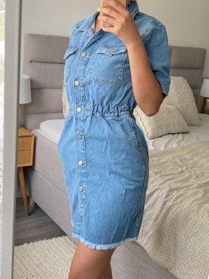 Happiness Robe en jean bleuet