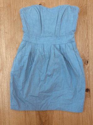 Jeans Kleid/ Sommer - Mini kleid hell blau v H&M Gr. 36-38- S-M