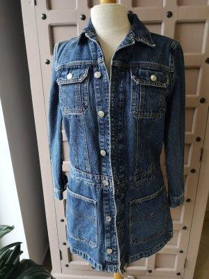 Jeans Kleid Tommy Hilfiger Gr XS Wie Neu Long Jeansjacke