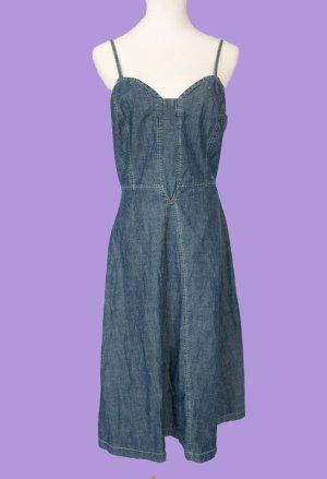 s.Oliver Denim Dress multicolored cotton