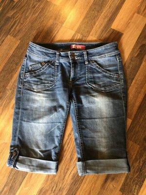 Jeansy ze stretchu stalowy niebieski-niebieski