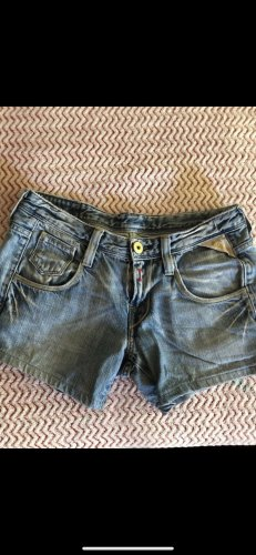 Replay Short en jean bleuet-bleu acier