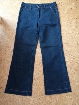 Lands' End Marlene jeans donkerblauw