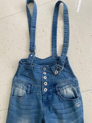 PLEASE Denim Bib Denim slate-gray