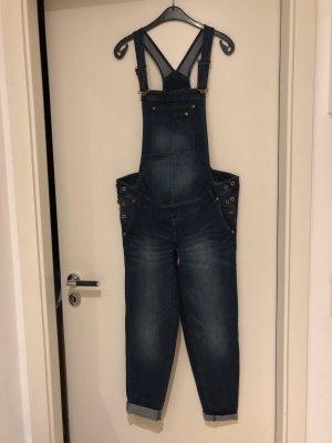 C&A Jeans met bovenstuk donkerblauw Katoen