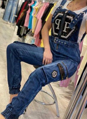 Jeans Latzhose Gr XL