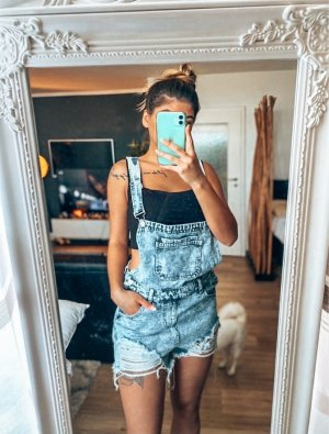 SheIn Dungarees blue