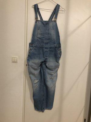 Zara Basic Jeans met bovenstuk lichtblauw