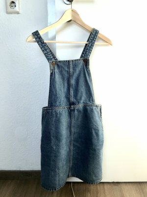 Monki Jeansjurk blauw