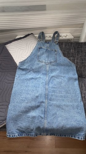 DF Jeans Pinafore Overall Skirt light blue