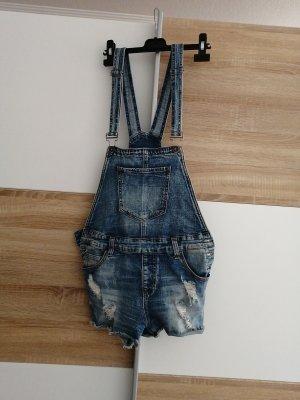 Jeans - Latzshorts