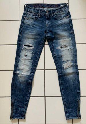 Le Temps des Cerises Jeans slim fit multicolore Tessuto misto