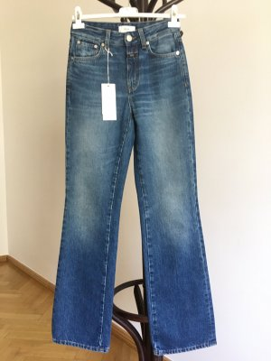 Closed Jeansy o kroju boot cut niebieski Bawełna