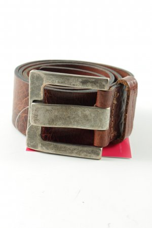 Jeans Leather Belt brown casual look