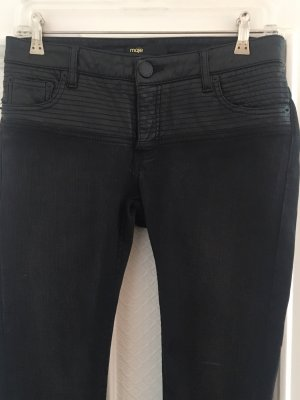 Maje Slim jeans zwart