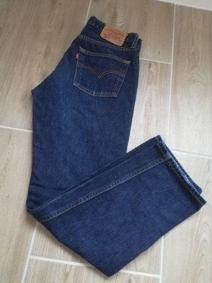 Levi's Wortel jeans blauw-donkerblauw