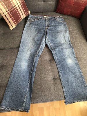 Levi's Jeansy o kroju boot cut stalowy niebieski