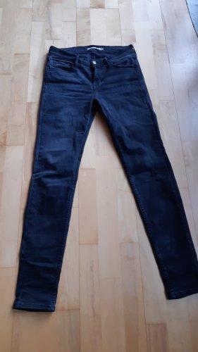 Jeans Levis schwarz Gr.27 Super Skinny Hose