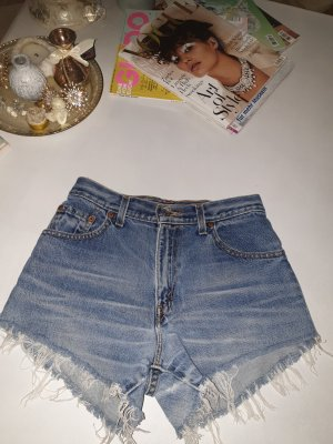 Levi's High-Waist-Shorts blue