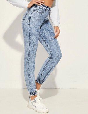 Jeans lockere Hose