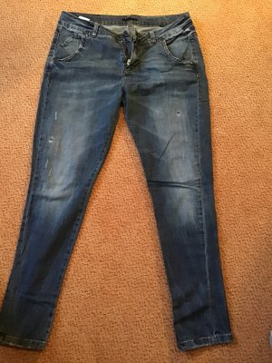 Jeans loose fit destroyed Sisley Barcelona