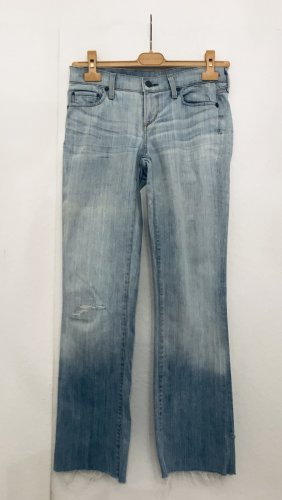 Citizens of Humanity Boot Cut Jeans azure cotton