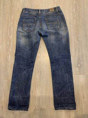 M.O.D. Low Rise Jeans steel blue