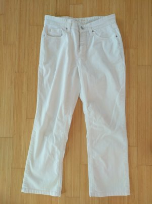 Mac Jeans a 3/4 bianco sporco