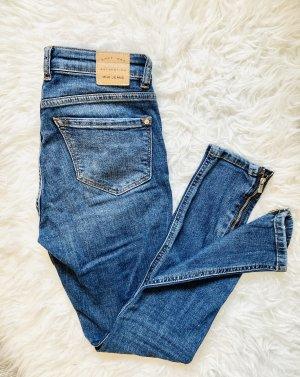 Mango Skinny Jeans blue-dark blue