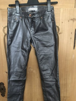 Jeans Mango silber