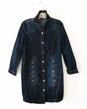 jeans mantel • denim • blau • vintage • boho • hippie
