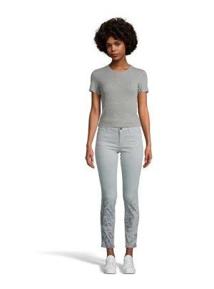 Marc Cain Jeans skinny blu pallido-blu scuro Cotone