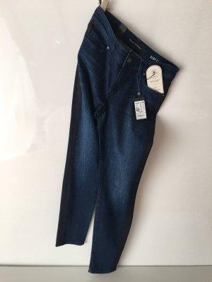 Marc O'Polo Jeans slim bleu foncé-noir
